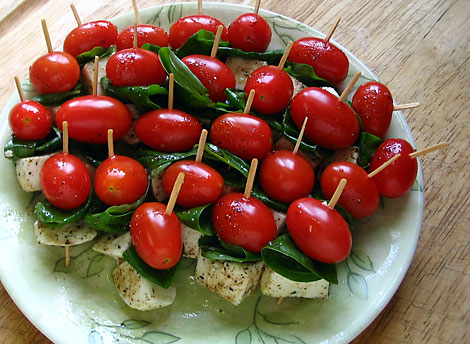 Caprese Appetizer Skewers